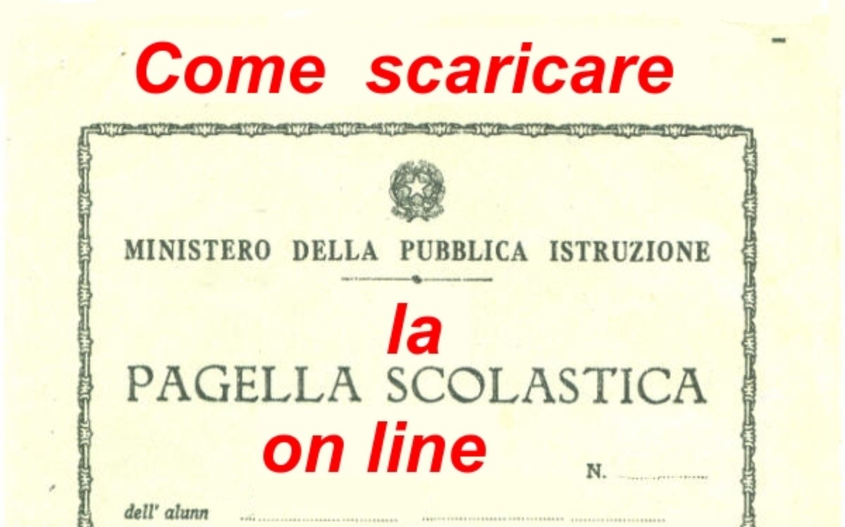 Come scaricare la Pagella on-line